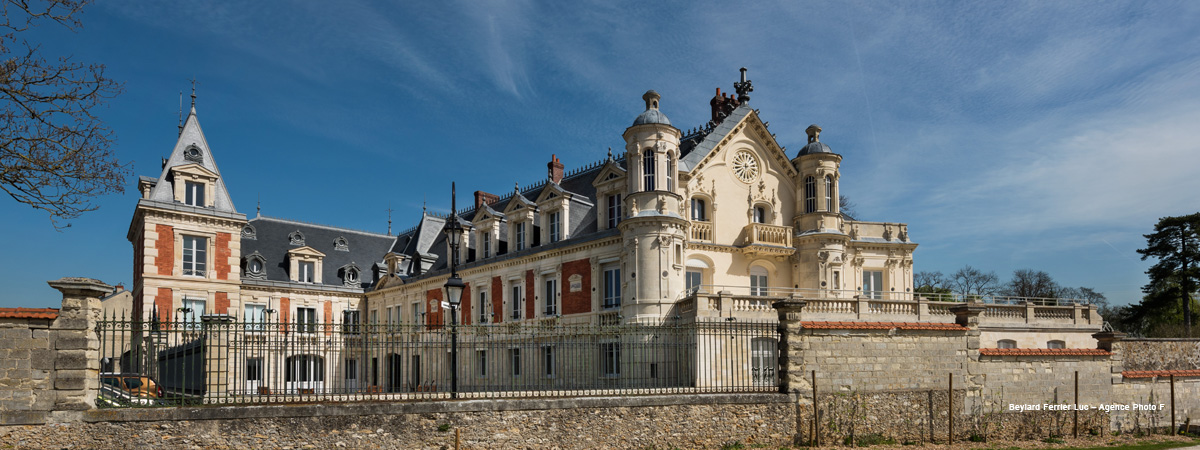 Le Château et le parc du Prieuré