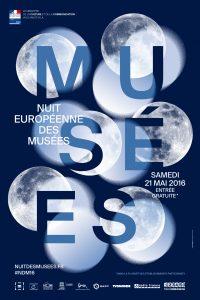Affiche de la nuit européenne des musée 2016