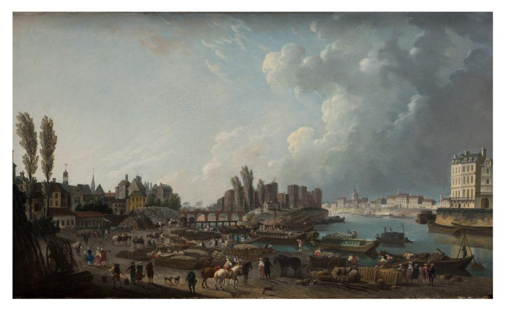 Port of Saint-Paul in Paris